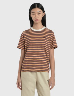 Stussy Printed Stripe T-Shirt