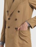 Maison Margiela Wool Blended Gabardine Blazer
