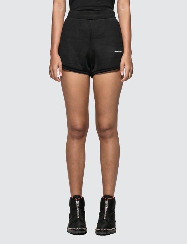 Alexander Wang.T Heavy Sleek French Terry Track Shorts