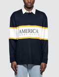 Perry Ellis L/S Rugby Shirt Picture