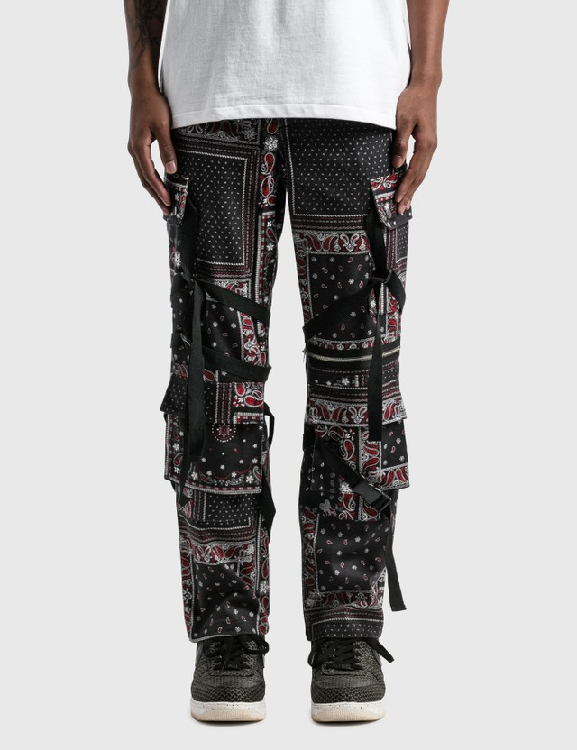 Rogic Paisley Cargo Pants