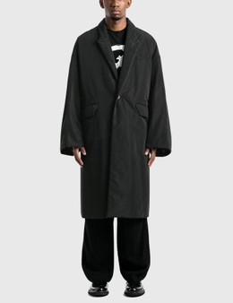 Undercover Oversized Nylon Long Jacket