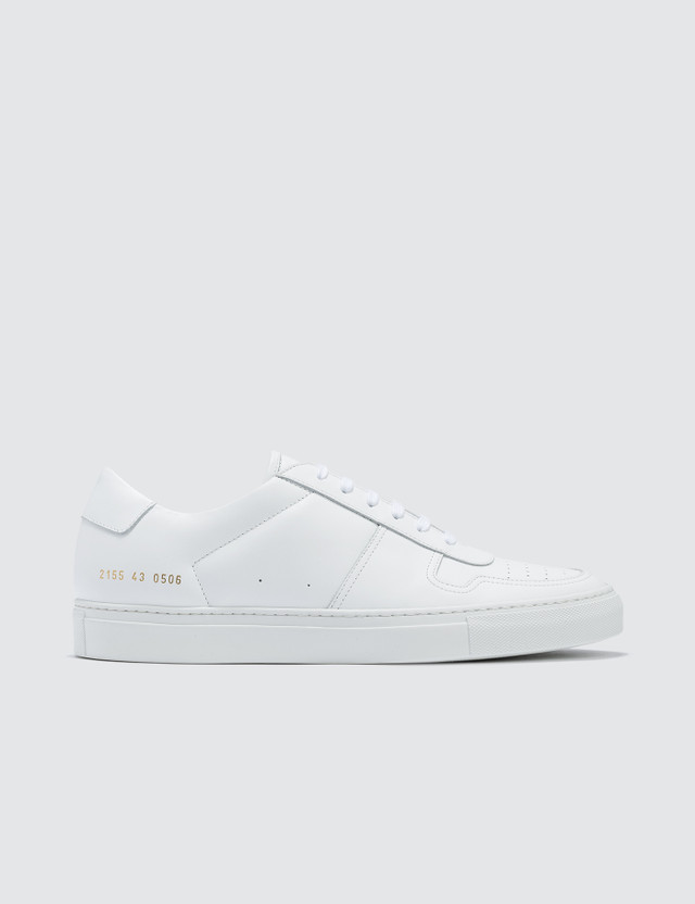 Common Projects Bball Low In Leather