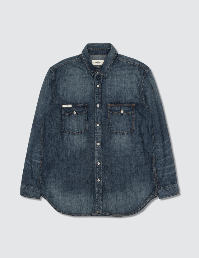 FOG - Fear of God Fog - Fear Of God Denim Shirt