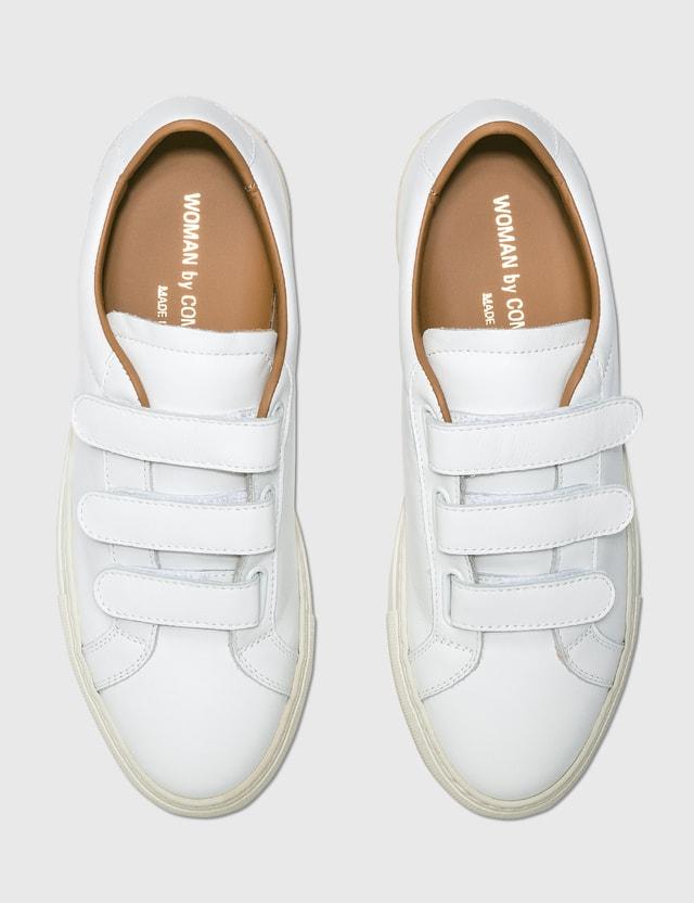 Common Projects Achilles Low Velcro White Women