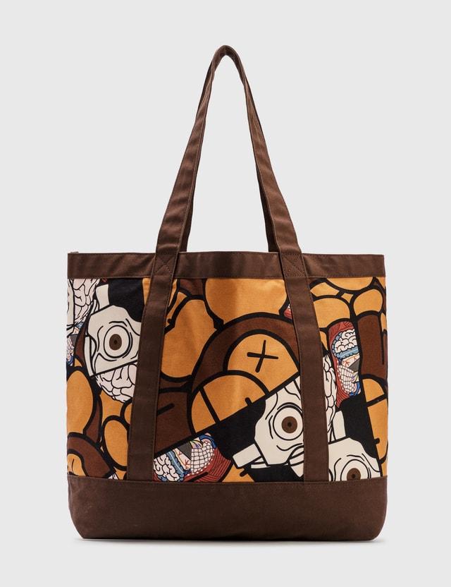 KAWS Milo X KAWS Patch Tote Bag Brown Archives