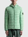 Stone Island Loom Woven Down Nylon-TC Jacket Picutre