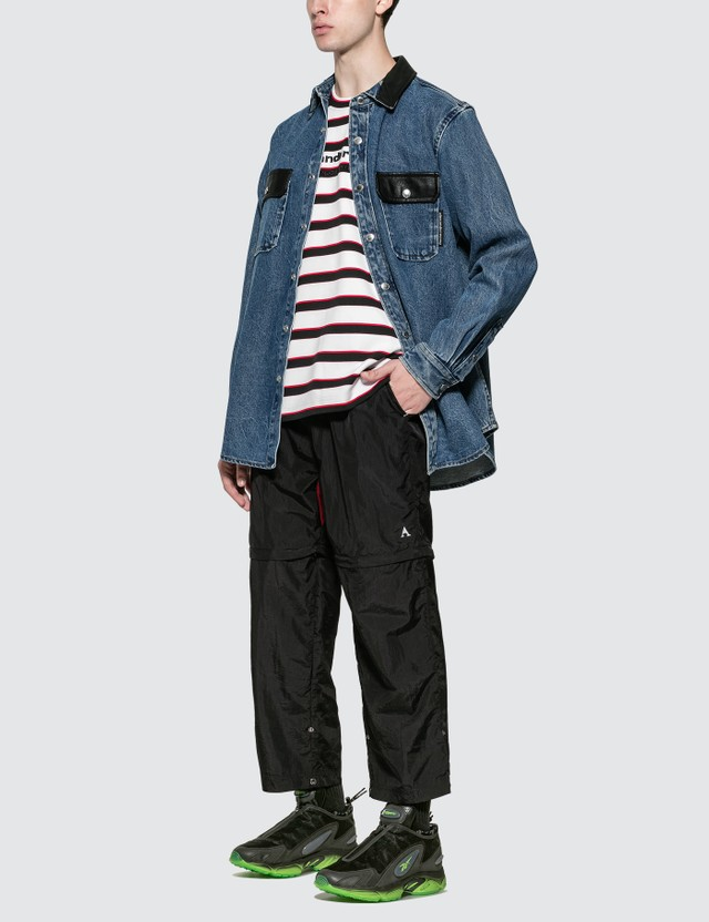 Alexander Wang Oversized Denim Button Down Shirt