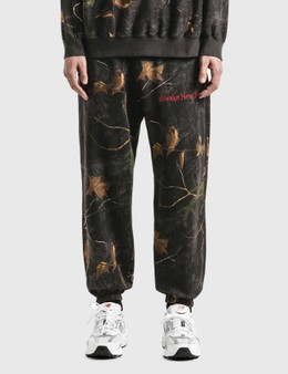 Awake NY Classic Outline Logo Embroidered Sweatpants