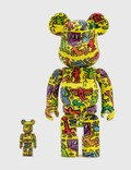 Medicom Toy Be@rbrick Keith Haring #5 100% & 400% Set Picutre