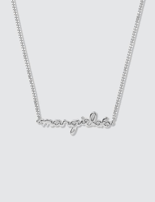 MM6 Maison Margiela Logo Necklace