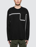 White Mountaineering Wm Taped L/S T-Shirt