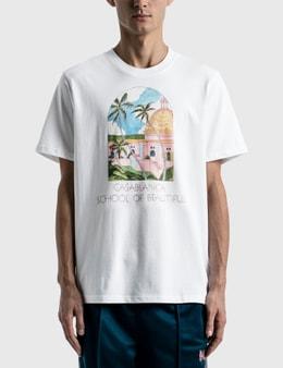 Casablanca School Of Beautiful Printed T-shirt
