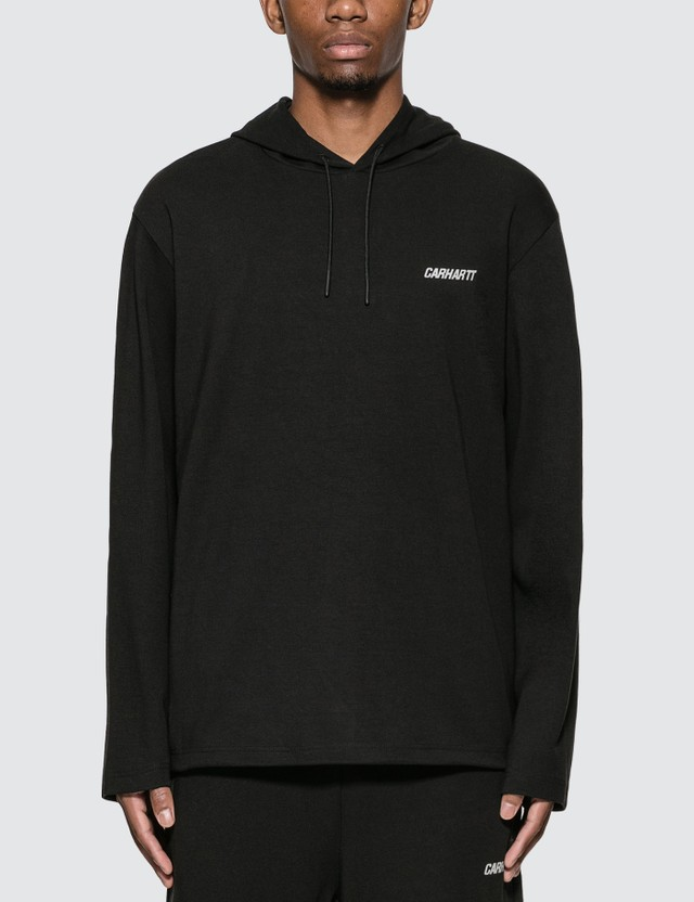 Carhartt Work In Progress Logo Print Hoodie