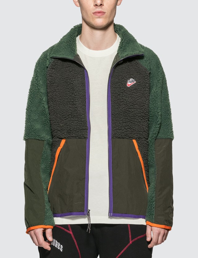 Nike Nike Sportswear Color Blocked Fleece Jacket