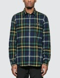 F.C. Real Bristol Big Logo Flannel B.D Shirt Picture