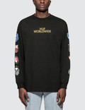 Huf WC Club Crest L/S T-Shirt Picture