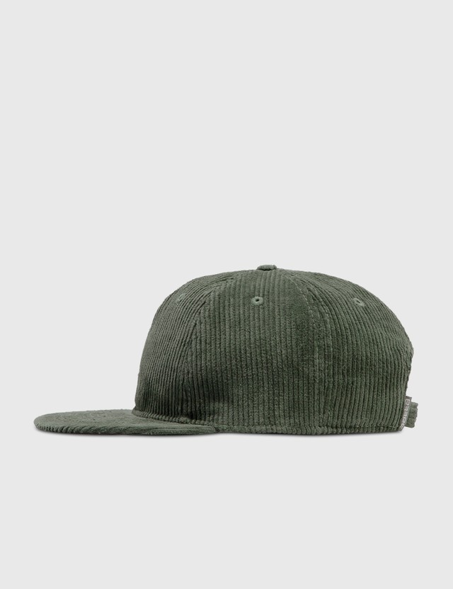 Satta Cord Cap Emerald Green Men