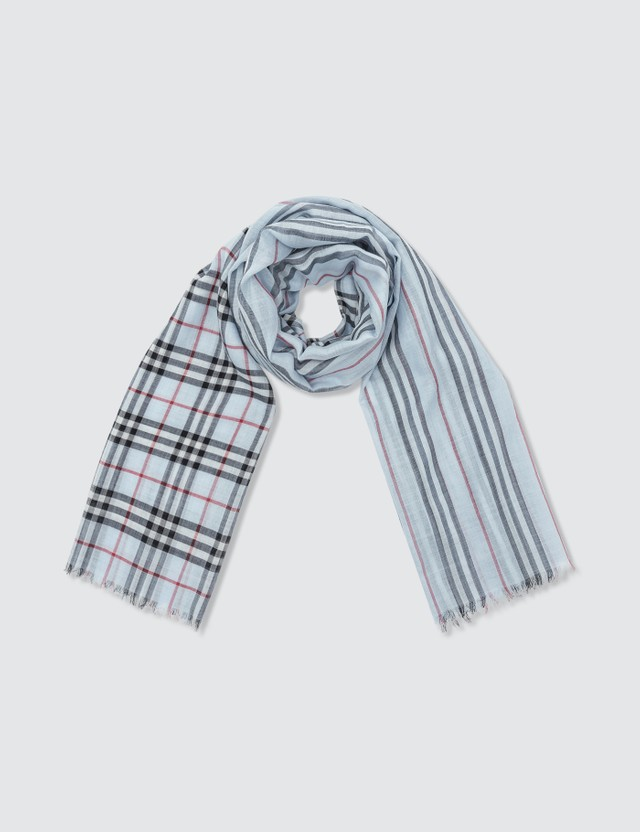 Burberry Check Gauze Novelty Scarf