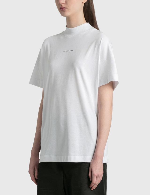 1017 ALYX 9SM Mockneck T-Shirt White Women