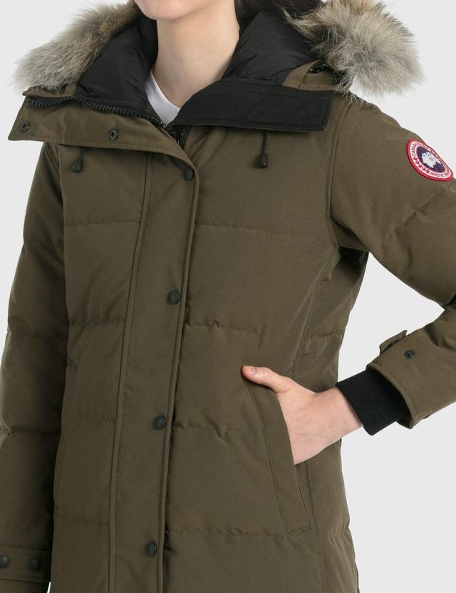 Canada Goose Shelburne Parka Military Green Women