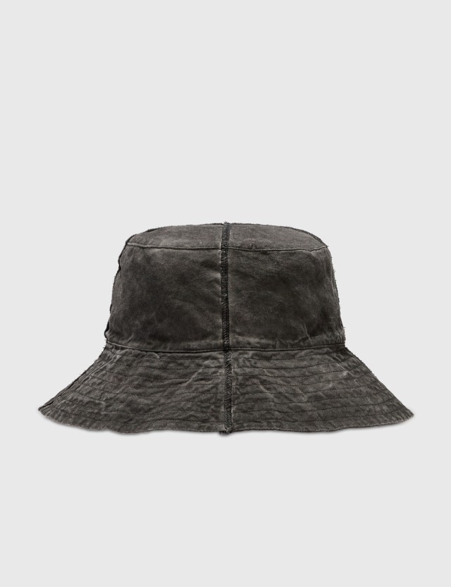 Hyein Seo Logo Bucket Hat Grey Men