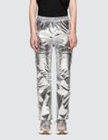 MM6 Maison Margiela Metallic Trousers Picture