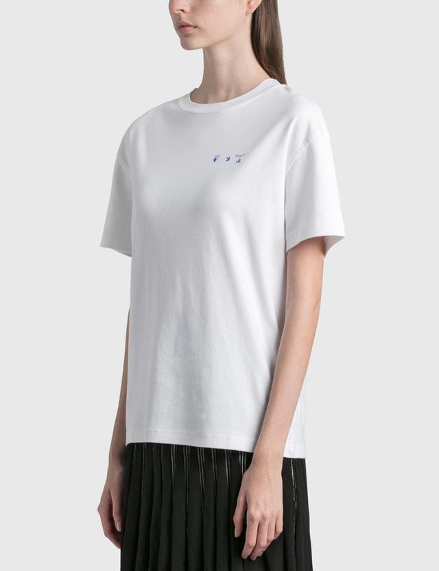 Off-White Flowers Arrows Reg T-Shirt White Women