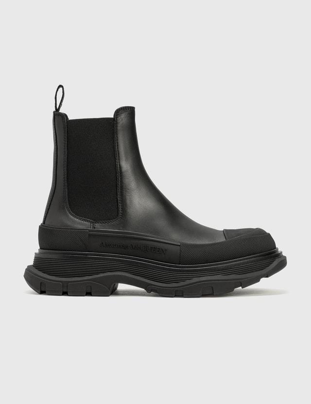 Alexander McQueen Tread Chelsea Boots Black Women