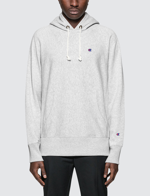 Champion Reverse Weave Small Logo Hoodie