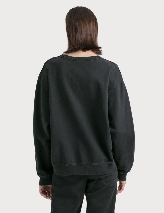Acne Studios Fierre Stamp Sweatshirt Black Women