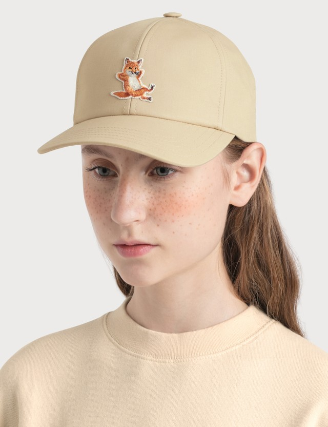 Maison Kitsune 6P Chillax Fox Patch Cap