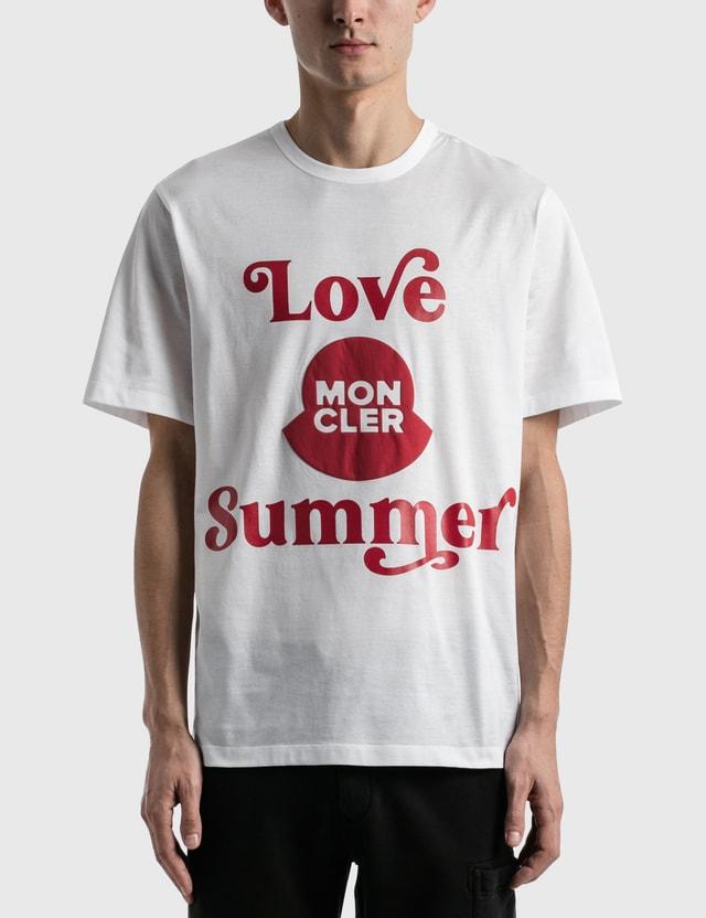Moncler Love Summer T-shirt White Men