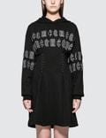 McQ Alexander McQueen Corset Hoodie Dress Picture
