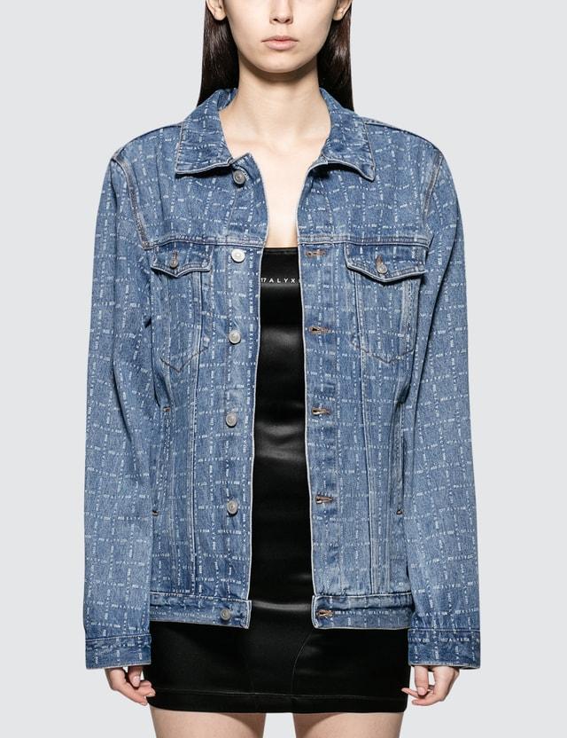 1017 ALYX 9SM Logo Check Denim Jacket