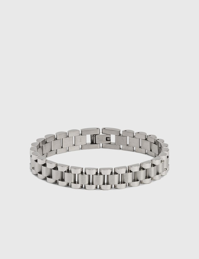 Ambush Rollie Chain Bracelet Silver Men