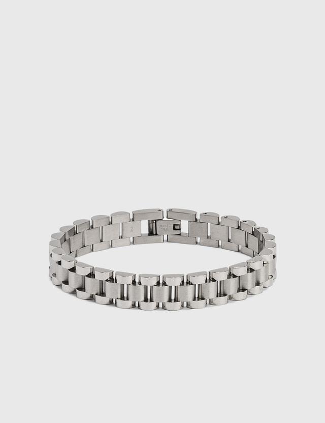 Ambush Rollie Chain Bracelet Silver Men