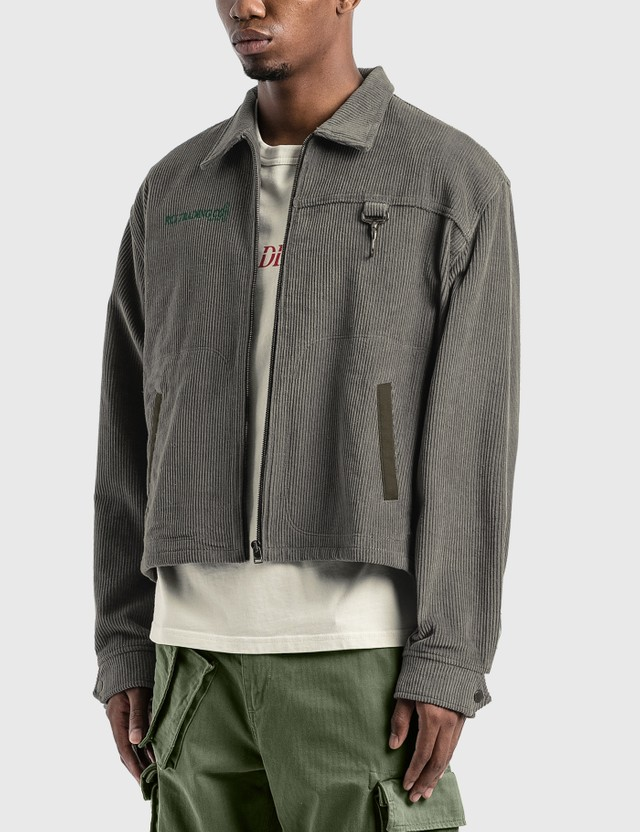 Reese Cooper Corduroy Hunting Division Jacket Grey Men