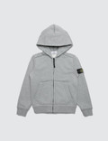 Stone Island Basic Zip Up Hoodie (Kids) Picture