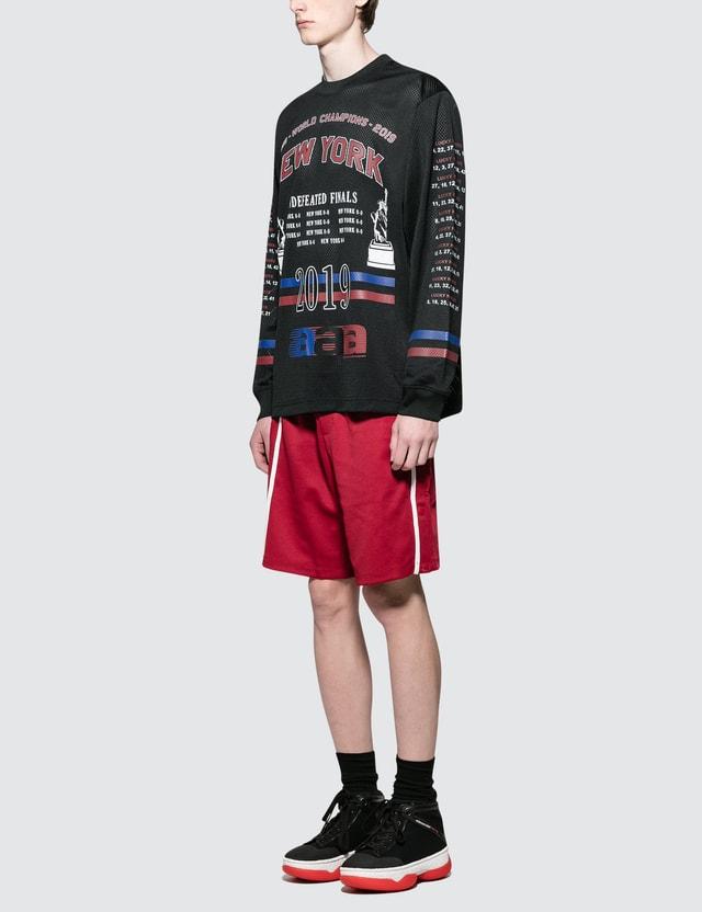 Alexander Wang Athletic Mesh L/S T-Shirt