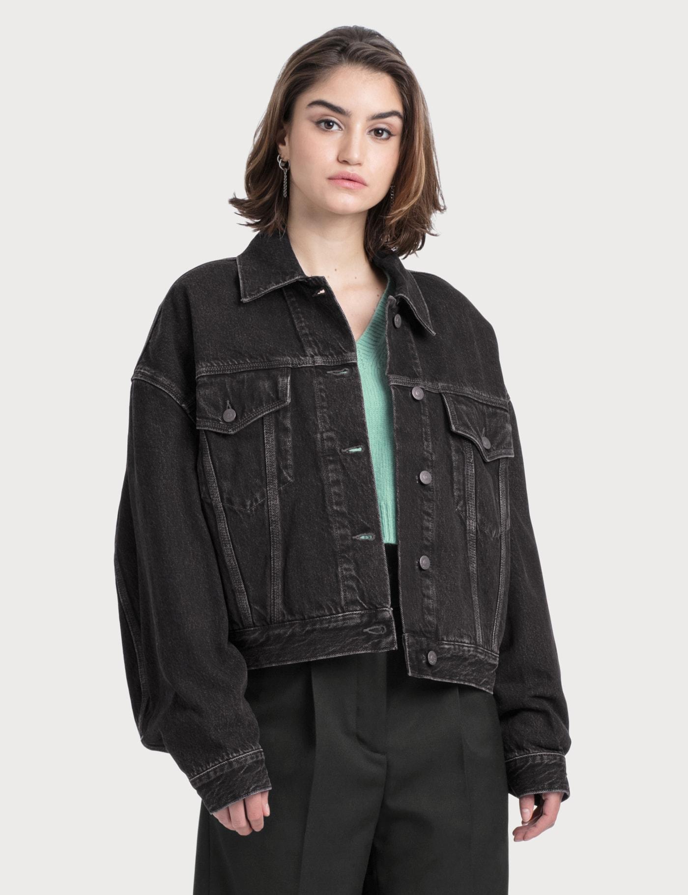 Morris Cropped Vintage Denim Jacket