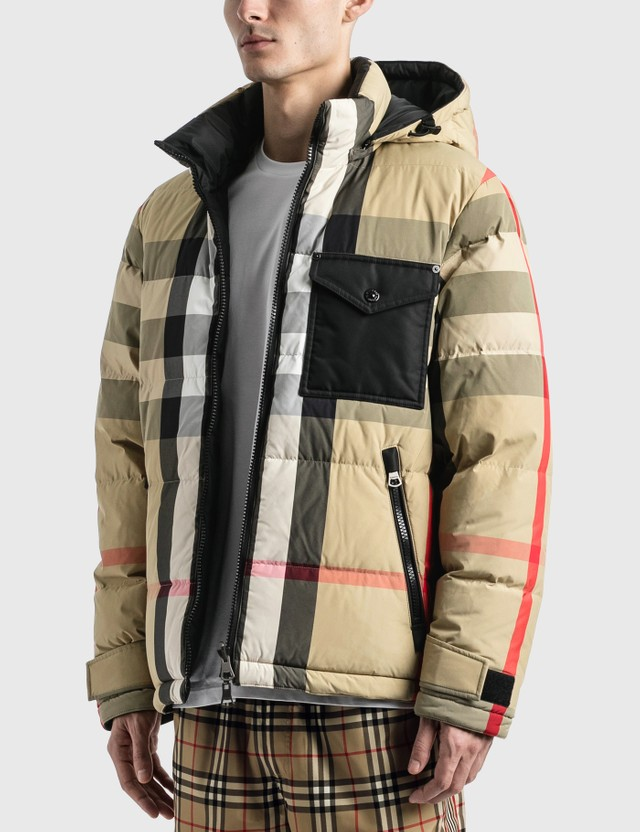 Burberry Reversible Recycled Nylon Down Puffer Jacket