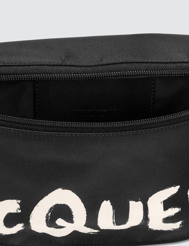 Alexander McQueen Oversize Harness Bum Bag