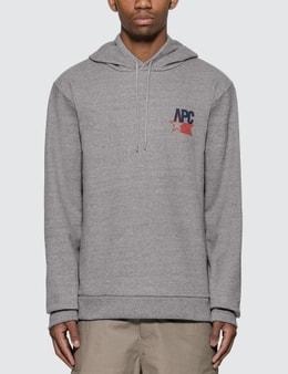 A.P.C. Bernardo USA Logo Hoodie