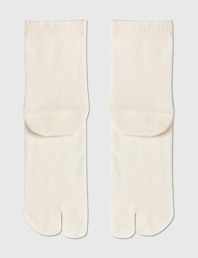 Maison Margiela Tabi Socks Off White Men