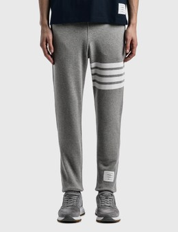 Thom Browne Classic 4-Bar Sweatpants