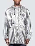 Polo Ralph Lauren Woven Silver Jacket Picutre
