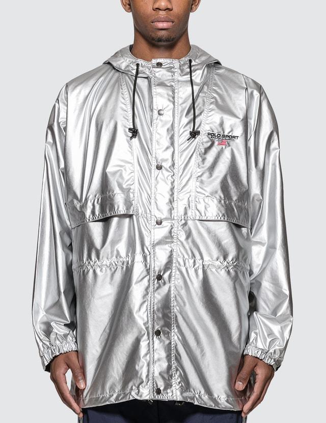 Polo Ralph Lauren Woven Silver Jacket