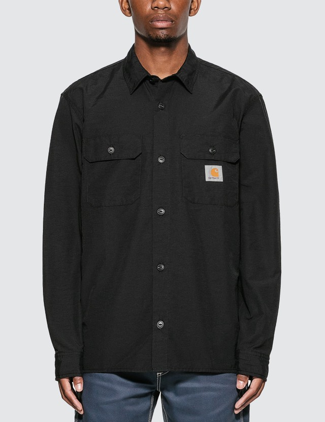 Carhartt Work In Progress Field Shirt Black Men