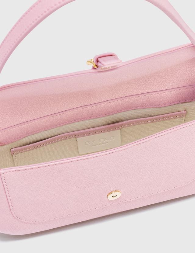 BY FAR Miranda Peony Grained Leather Bag Peony Women